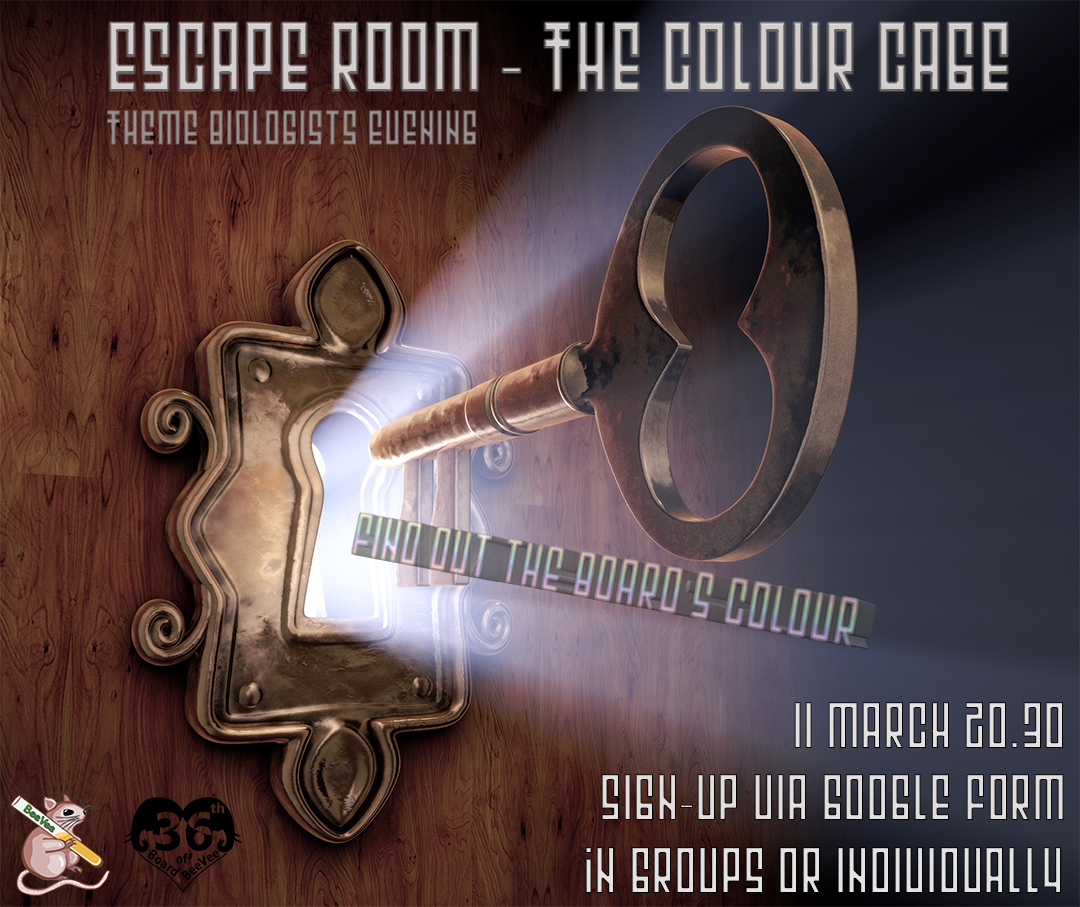 Theme Biologists Evening: Escape Room