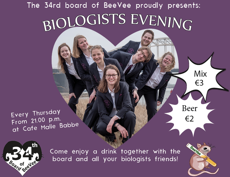 Biologists evening (every Thursday)
